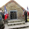 Andornay - voyage ADFL - cimetière et plaque- Blandine Bongrand Saint Hillier