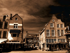 Delft market place photo by STEHOUWER AND RECIO