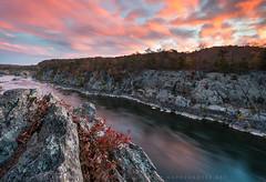 Potomac River Mather Gorge Sunrise photo by Mark VanDyke Photography