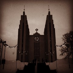 The church of Akureyri.... Or Mordor missing the eye?? photo by perlusulta.perlusulta