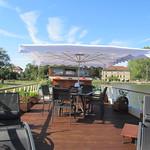 Hotel barge Magnolia deck