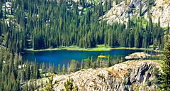 Beautiful Alpine Lake photo by http://fineartamerica.com/profiles/robert-bales.ht