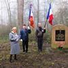 Illwald- Novembre 2014 -Cérémonie délégation ADFL à la stèle de la Cie Chambarand du BM ' - Blandine Bongrand Saint Hillier
