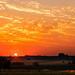 Sunset at Thaba Manzi