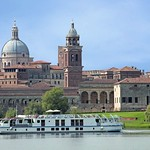 La Bella Vita - Moored in Mantua