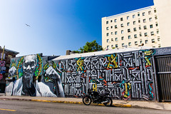 Skid Row mural photo by Ivan Darko