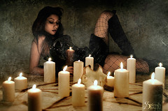 """""""The Summoning"""" ft. Irene Astral photo by SpirosK photography"""