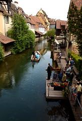 """Colmar, promenade en barque dans la """"Petite Venise"""" photo by anne arnould"""