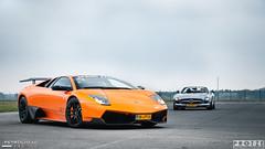 Lamborghini Murcielago SV or Mercedes-Benz SLS AMG? photo by Protze | Automotive Photography