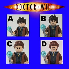 Doctor Who: Which Head-Hair Combo for David Tennant (10th Doctor) ? photo by The_Lego_Guy