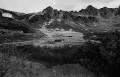 白晝黑月 Dark Moon, Black Kar  ~Moon and Reflection  0f Komagane@ Senjojiki Kar, 長野県 千畳敷カール~ photo by PS兔~兔兔兔~