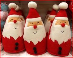 Santas on a Shelf .. photo by ** Janets Photos **