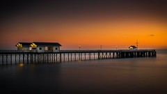 Sunrise Penarth Pier photo by technodean2000