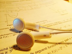 Relaxing Studying Math Macro Music Earphones Milano Precision Taking Photos Hello World photo by Gianfranco Spezia
