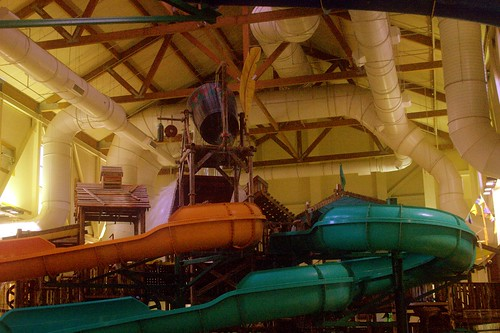 open water slides