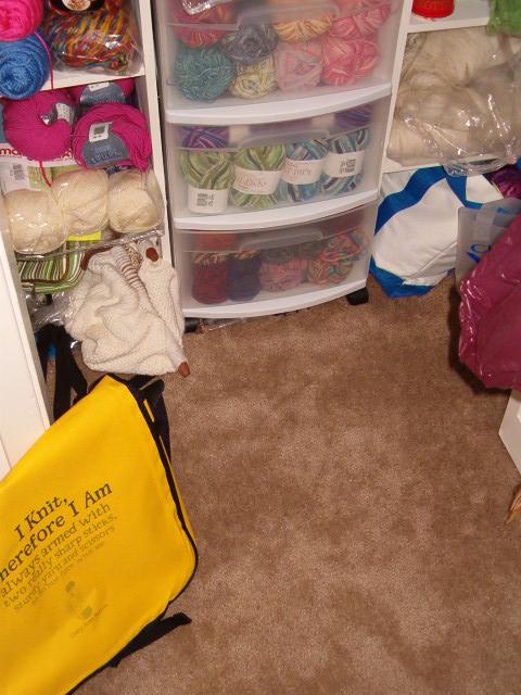 Yarn Closet Floor