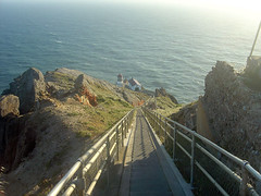The way down to the lighthouse