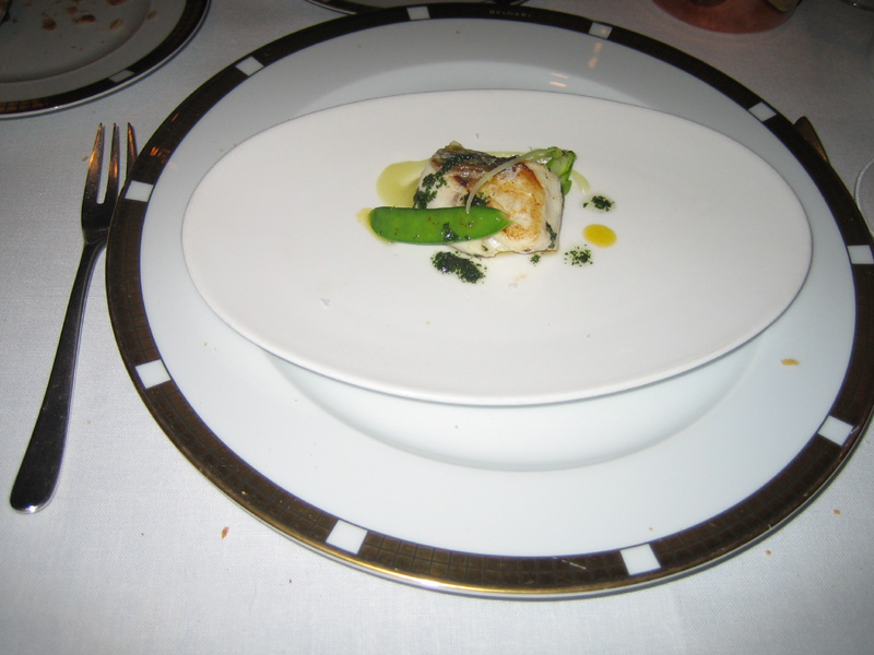 Can Roca - Smoked Sea Perch w/ Asparagus