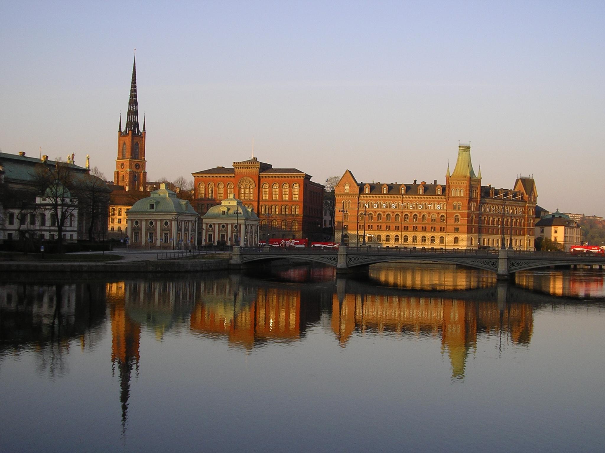 Estocolmo al atardecer