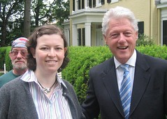 with Bill Clinton