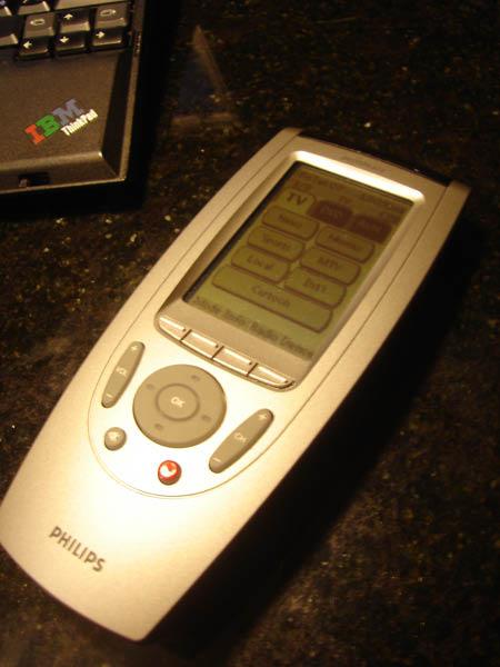 液晶觸控式遙控器