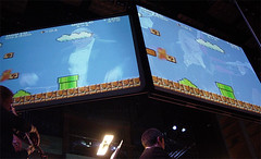 Play: Mario on screen