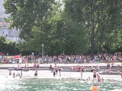 im Schwimmbad Wollishofen
