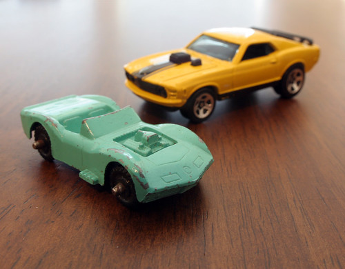 Vette and Mustang