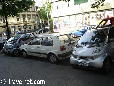 Smart cars in Frankfurt
