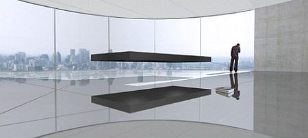 magnetic_floating_bed