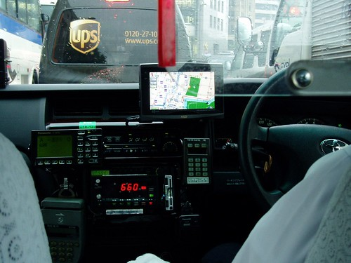 Most of the Taxi's have GPS and are high tech.
