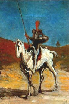 Daumier-Don Quichotte
