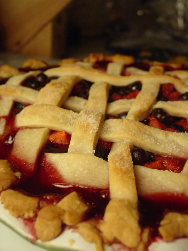 2 Berry Lattice Pie
