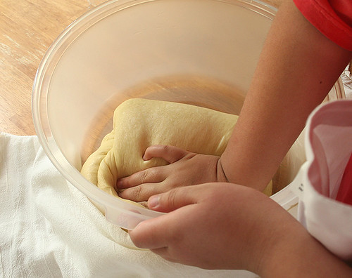 Challah Project: Baking with your kids - 14
