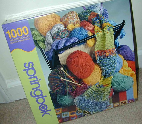 Knitter's stash jigsaw puzzle