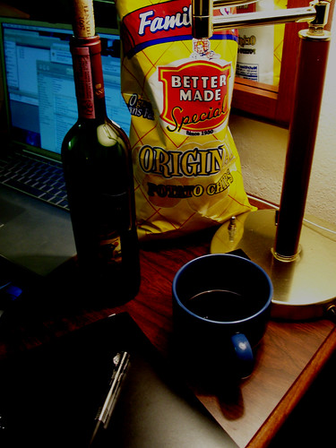 Still life with chips