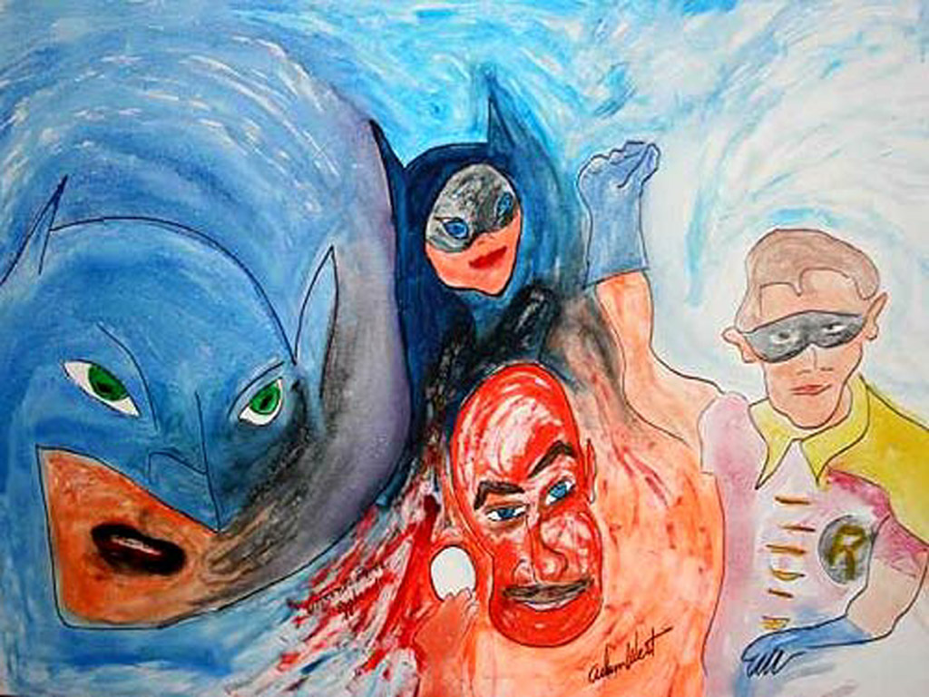 Adam_West_Batman_Painting