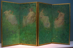 Four Spring screen by Dewing
