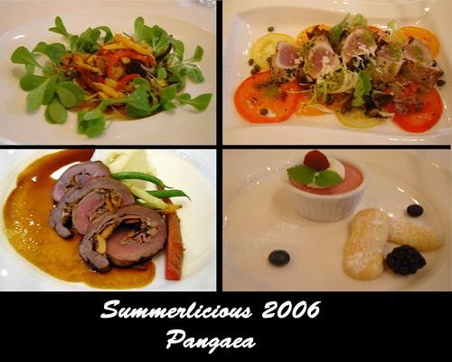 Summerlicious 2006: Pangaea