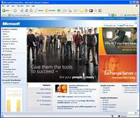 Microsoft.com old home page