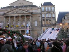 Pulka på torget i Saint-Quentin