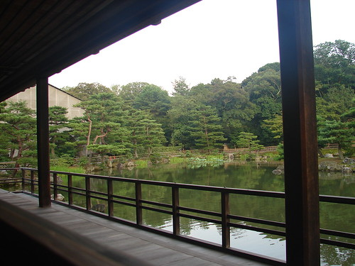From the golden pavillon, Kyoto 金閣寺