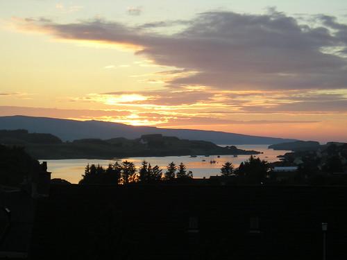 Sunset over Dunvegan