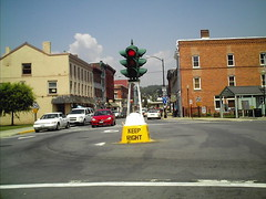 The Famous Dummy Light In Canajoharie, NY.