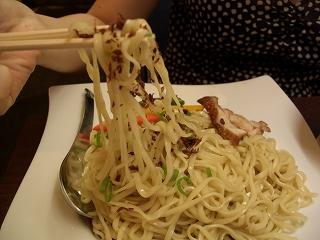 505 Bassa Nova グリーンカレーつけ麺