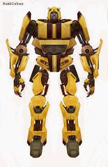 Bumblebee concepto Transformers la pelicula