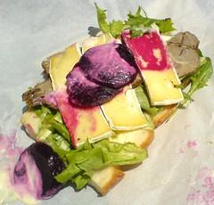 Messy Sandwich!
