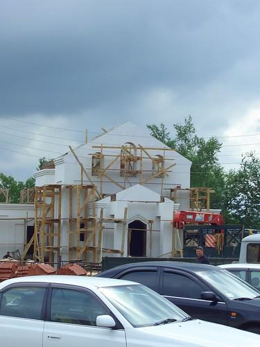 строящаяся церковь \ church