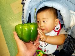 Giant bell pepper!
