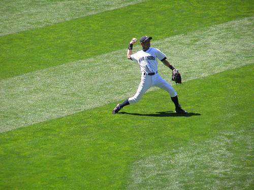 ichiro outfield
